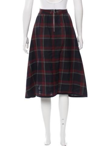Virgin Wool & Silk-Blend Skirt w/ Tags