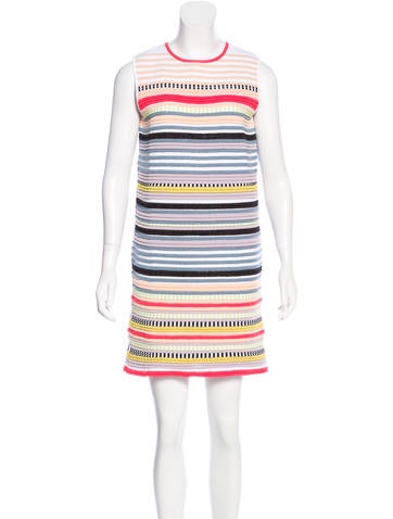 Suno Striped Mini Dress None