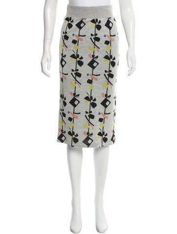 Suno Intarsia Pencil Skirt w/ Tags None