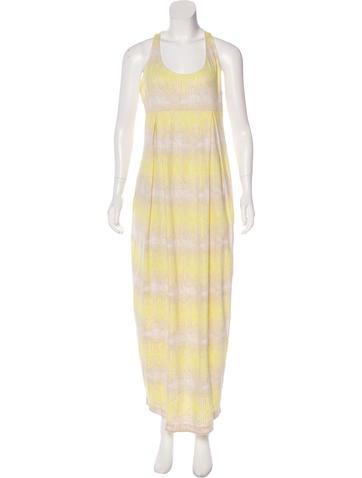 Suno Scoop Neck Maxi Dress w/ Tags None