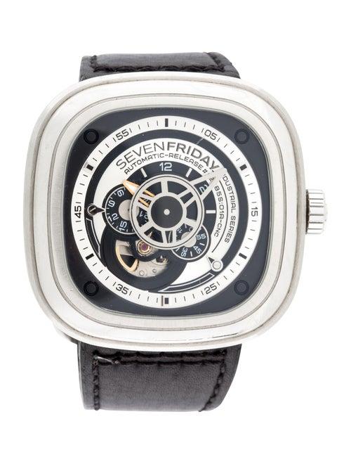 Sevenfriday P-Series Watch Black