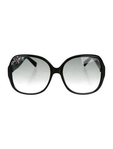 Swarovski Oversize Gradient Sunglasses