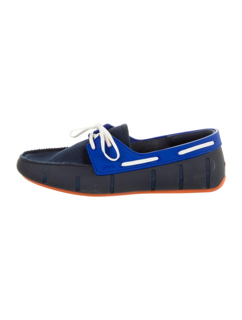 Swims Rubber Boat Shoes Blue