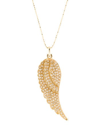 Large Wing Necklace