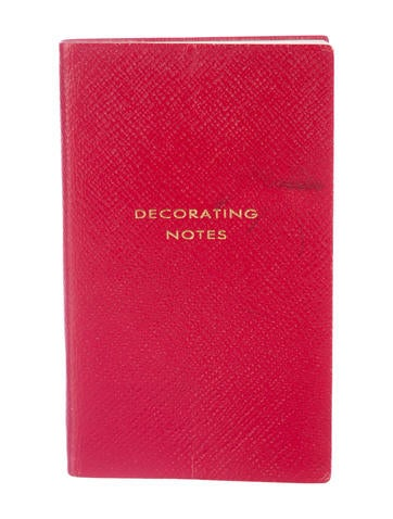 Decorating Notes Notebook