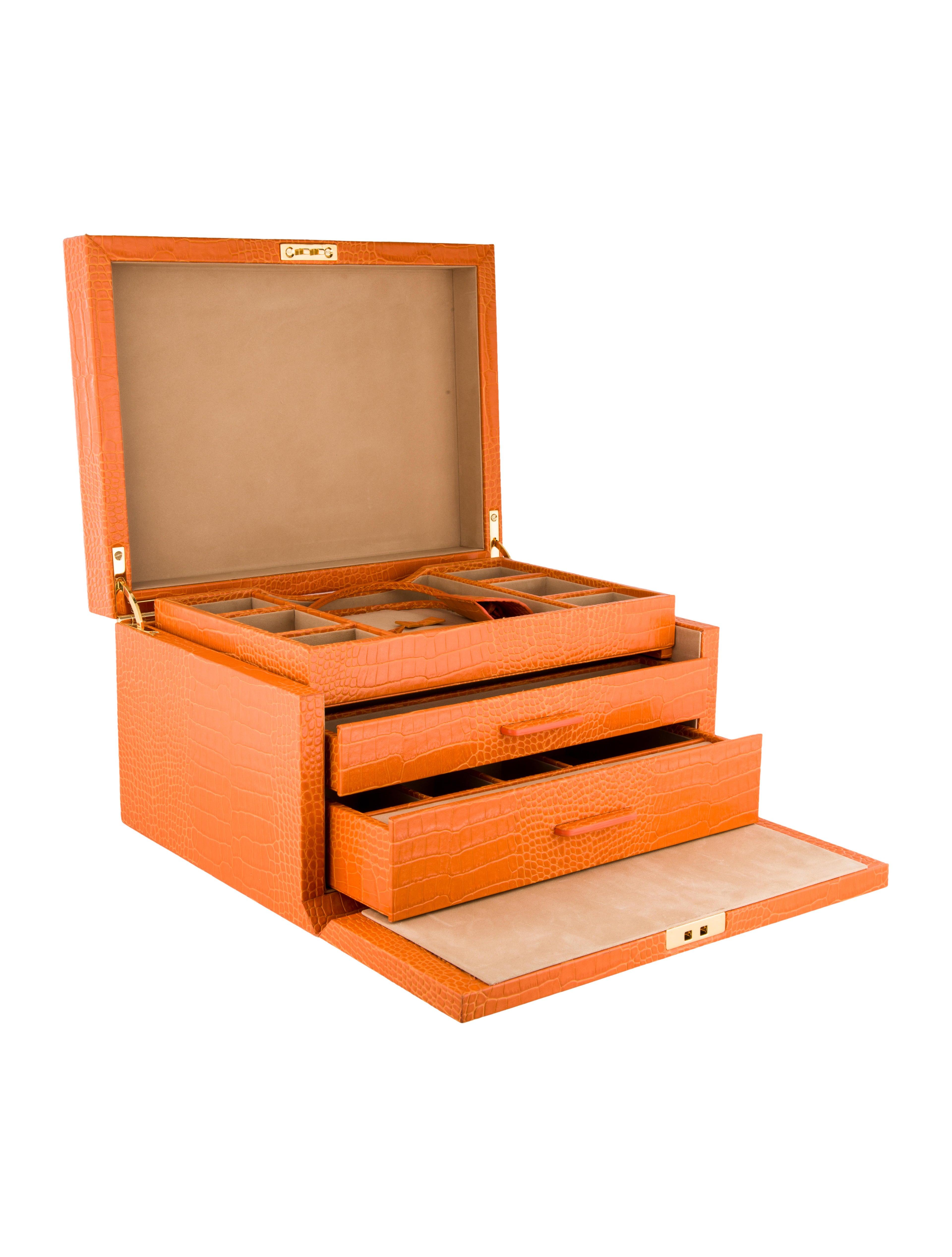 Smythson mara jewelry box decor and accessories for Mara home decorations