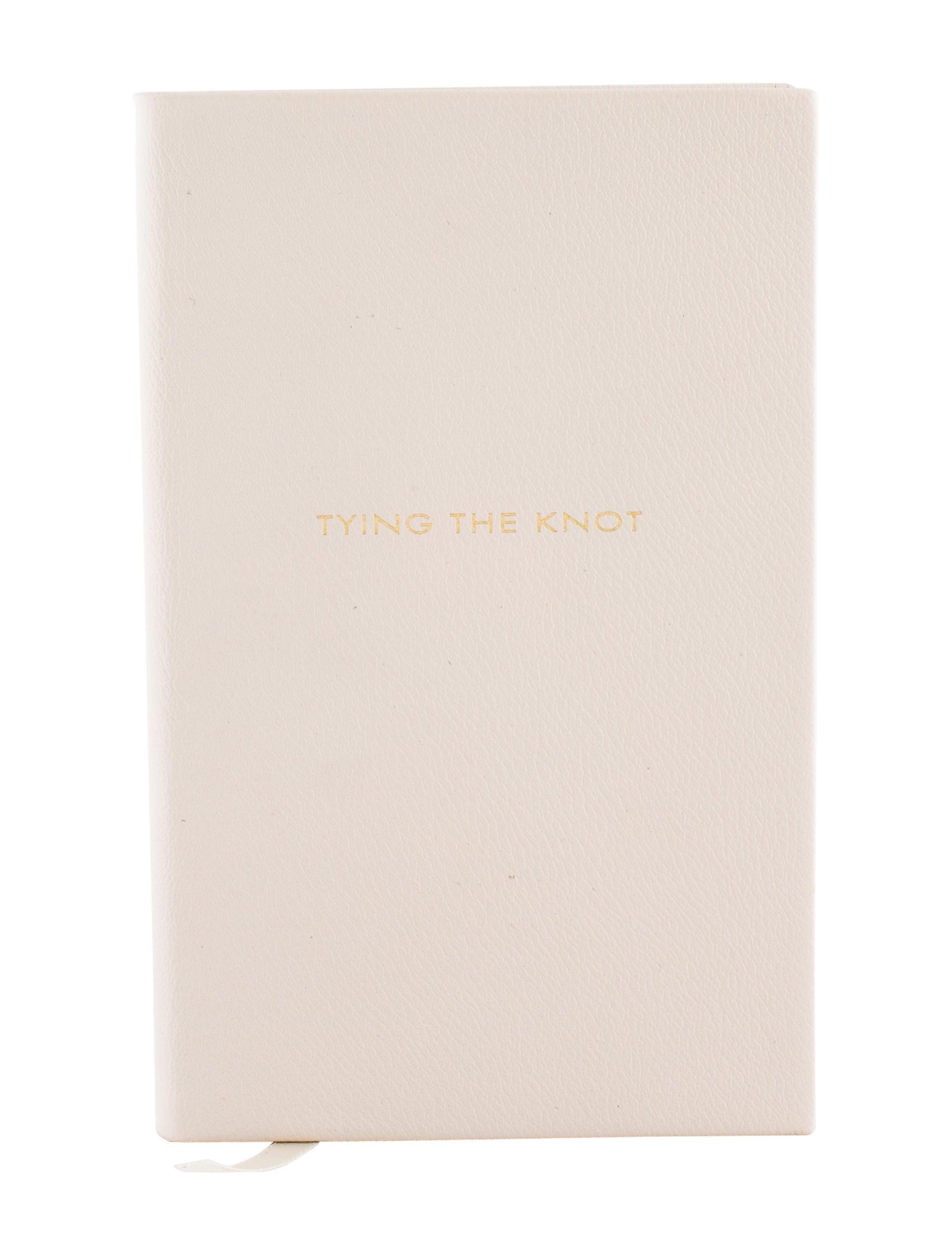 Smythson Tying The Knot Wedding Planner Notebook