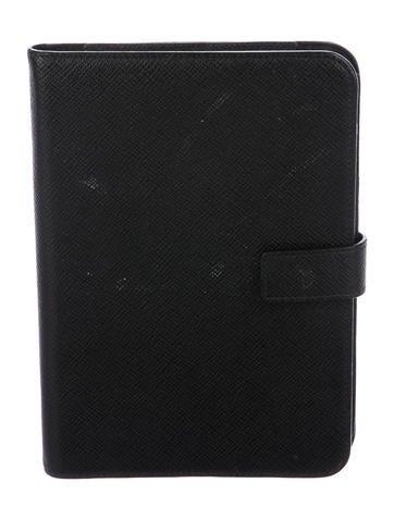Smythson Leather iPad Case None