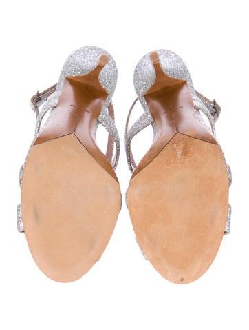Glitter Coated Sandals
