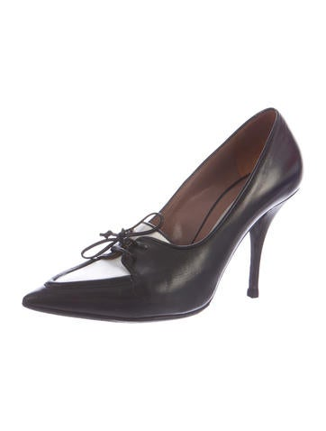 Leather Edna Pumps