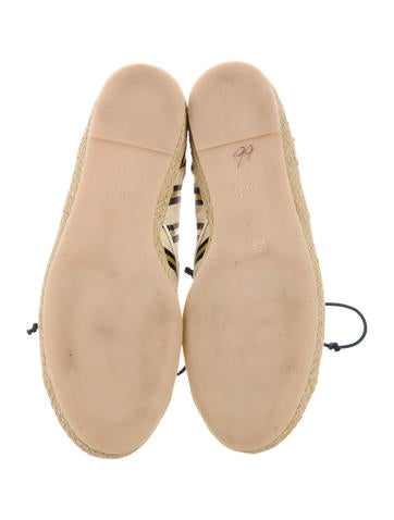 Canvas Round-Toe Flats