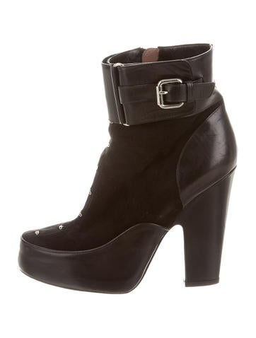 Tabitha Simmons Suede Ankle Boots None