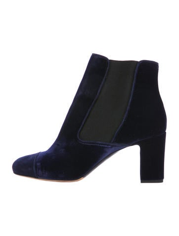 Tabitha Simmons Micki Cap-Toe Ankle Boots None