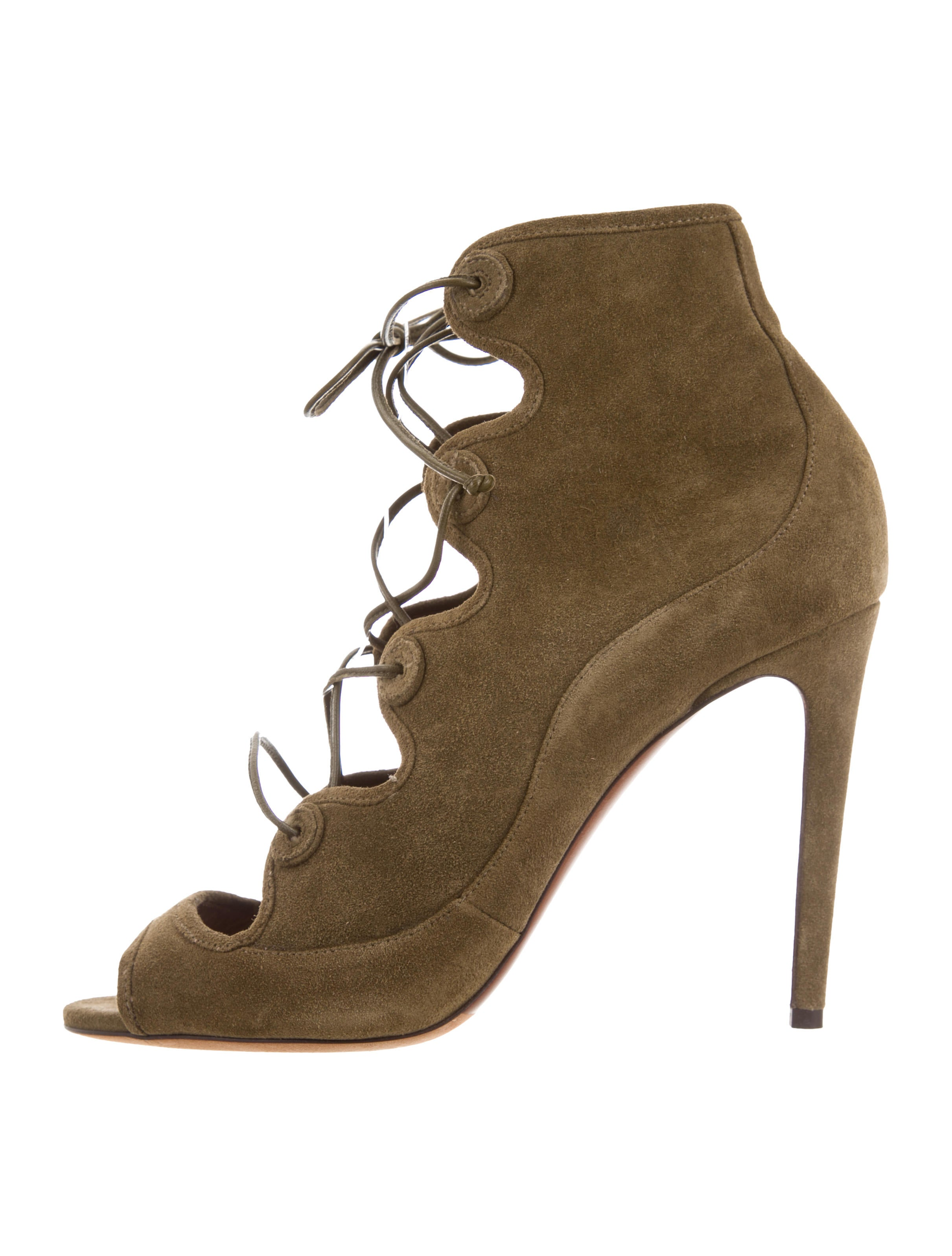 Tabitha Simmons Charlotte Lace-Up Booties w/ Tags discount visa payment sale deals cheap enjoy SqzXH0WOh