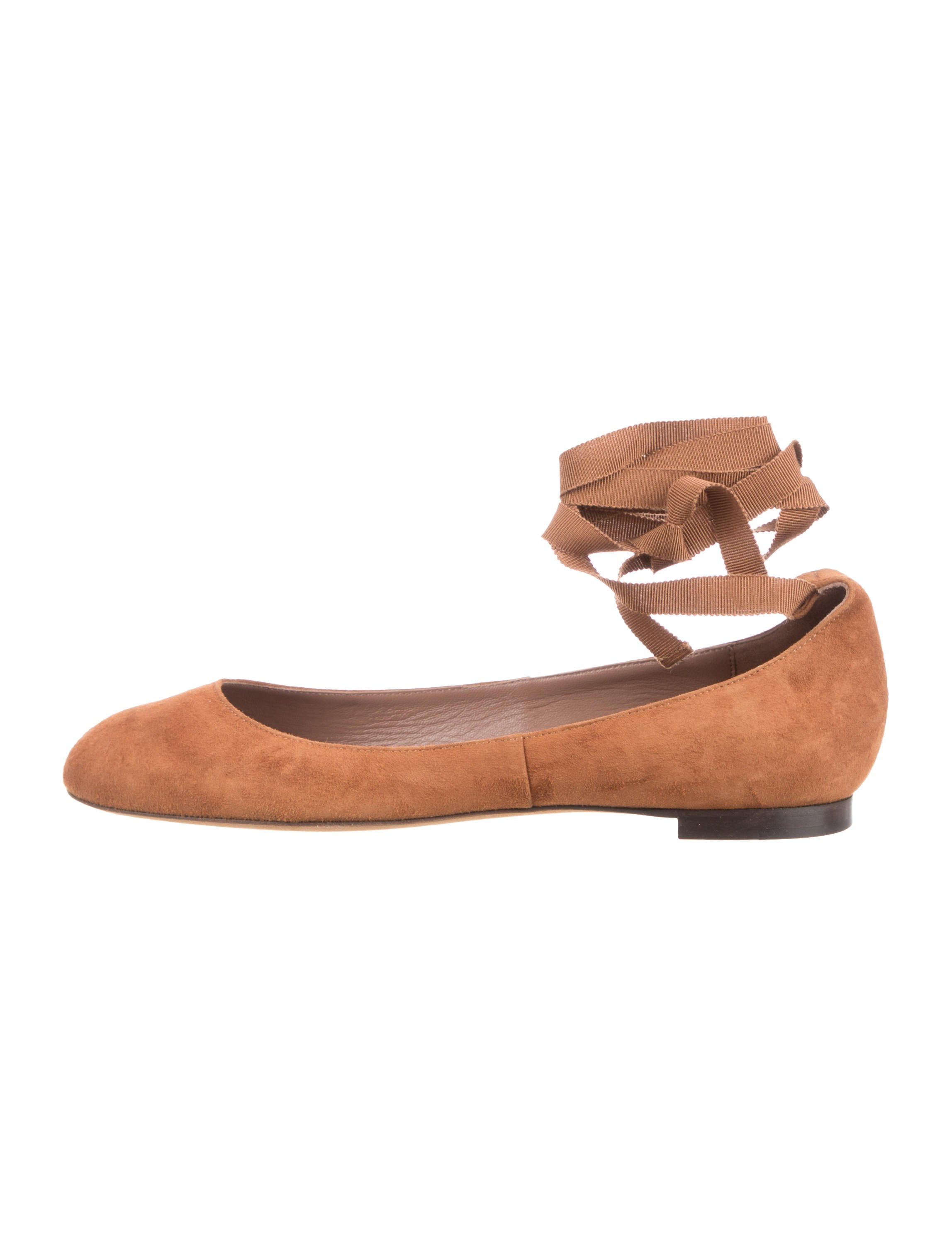 Tabitha Simmons Daria Suede Flats w/ Tags quality for sale free shipping largest supplier sale online cost cheap price clearance websites free shipping online 3zG5rQO