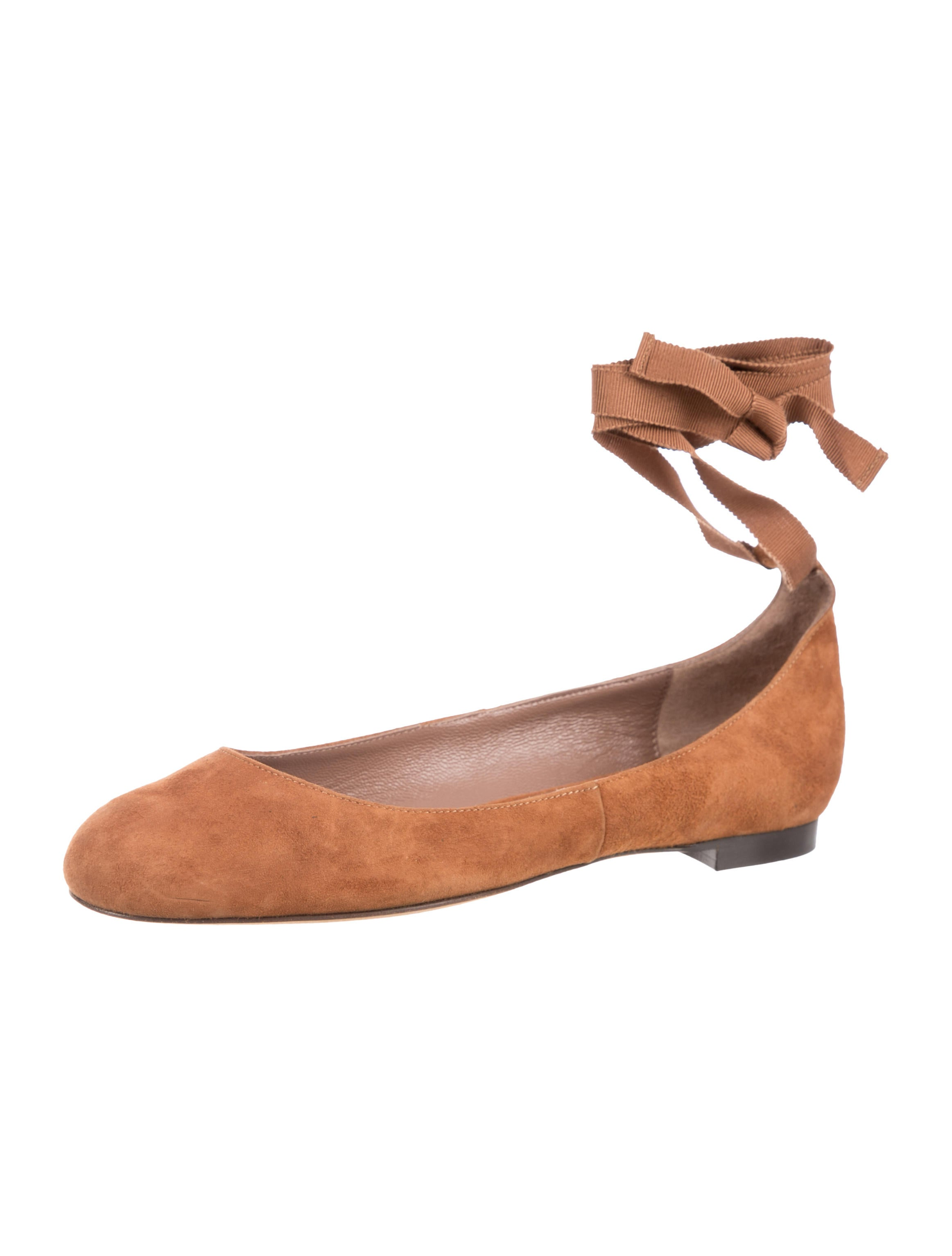 Tabitha Simmons Daria Suede Flats w/ Tags 100% original how much cheap price outlet ebay great deals online outlet huge surprise aAaS0fA