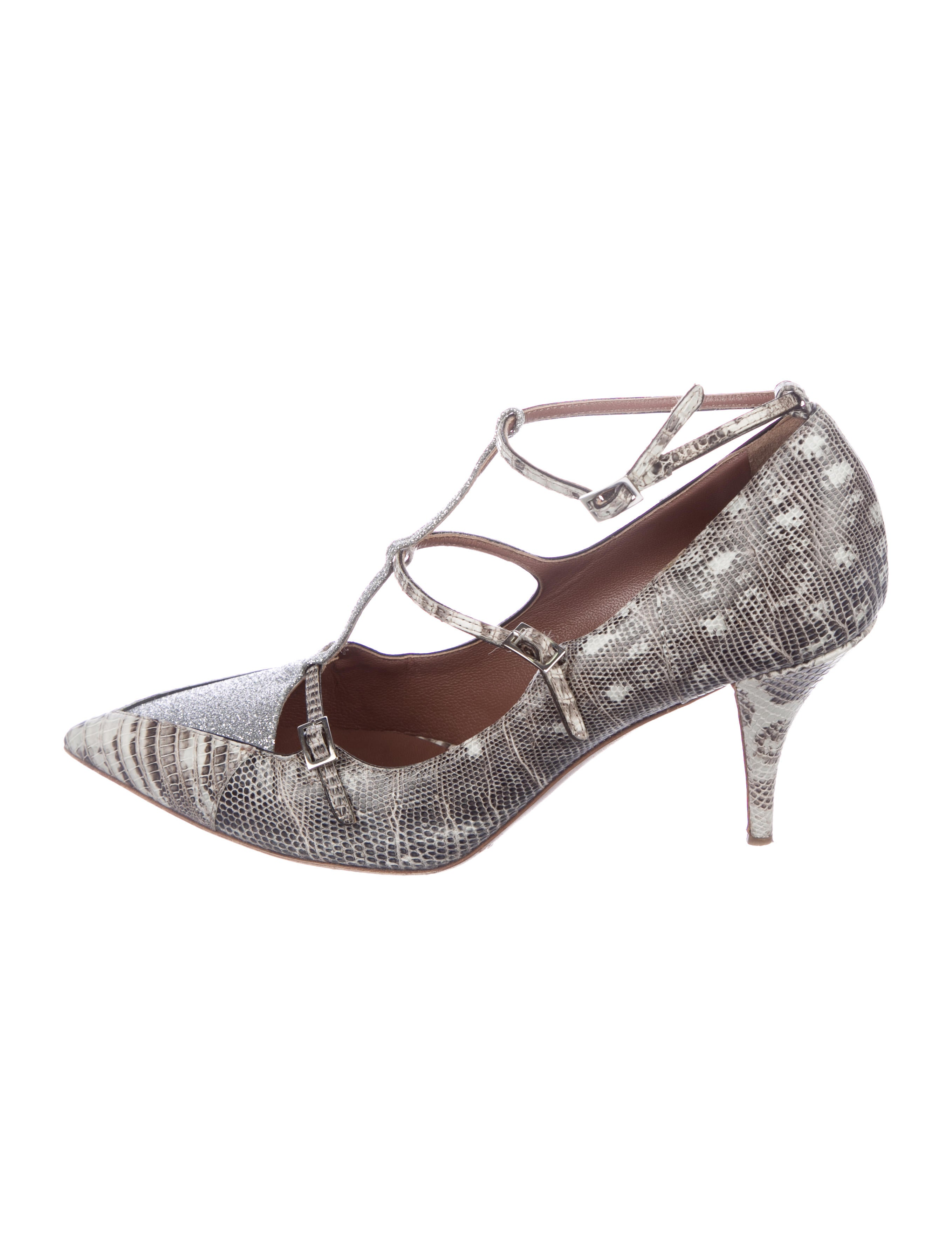 cheap price top quality Tabitha Simmons Lizard Pointed-Toe Pumps clearance new styles comfortable for sale in China cheap price Aoipvu