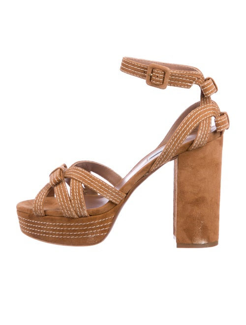 Tabitha Simmons Suede Sandals