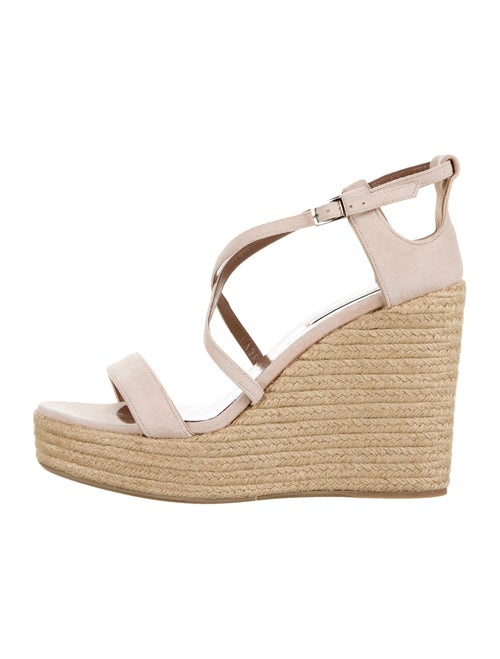 Tabitha Simmons Suede Espadrilles Pink