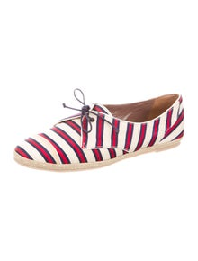 Tabitha Simmons Striped Espadrilles