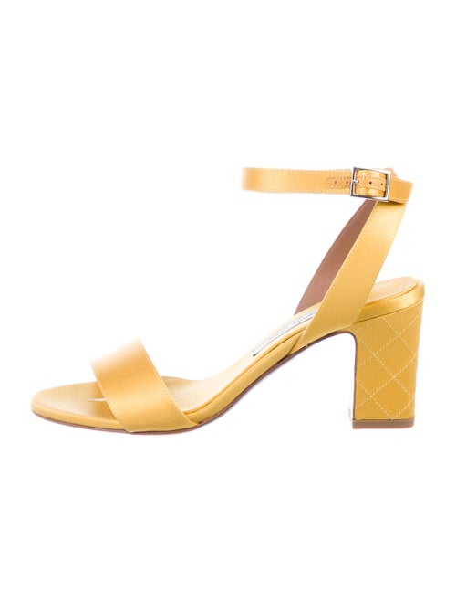 Tabitha Simmons Sandals Yellow
