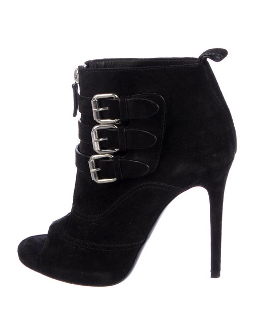Tabitha Simmons Suede Boots Black