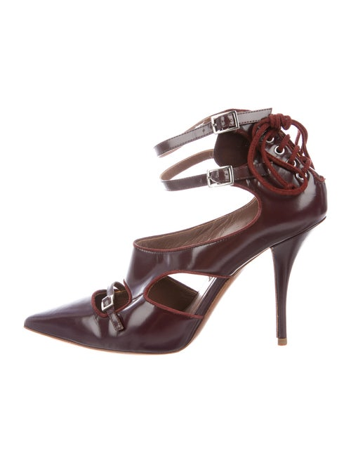 Tabitha Simmons Patent Leather Pumps