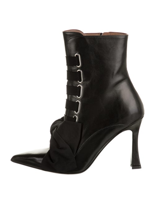 Tabitha Simmons Leather Boots w/ Tags Black