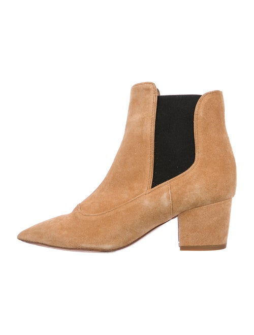 Tabitha Simmons Shadow Suede Chelsea Boots