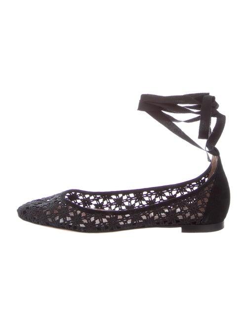 Tabitha Simmons Ballet Flats Black