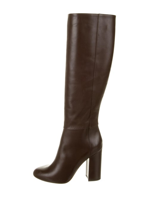 Tabitha Simmons Leather Boots Brown