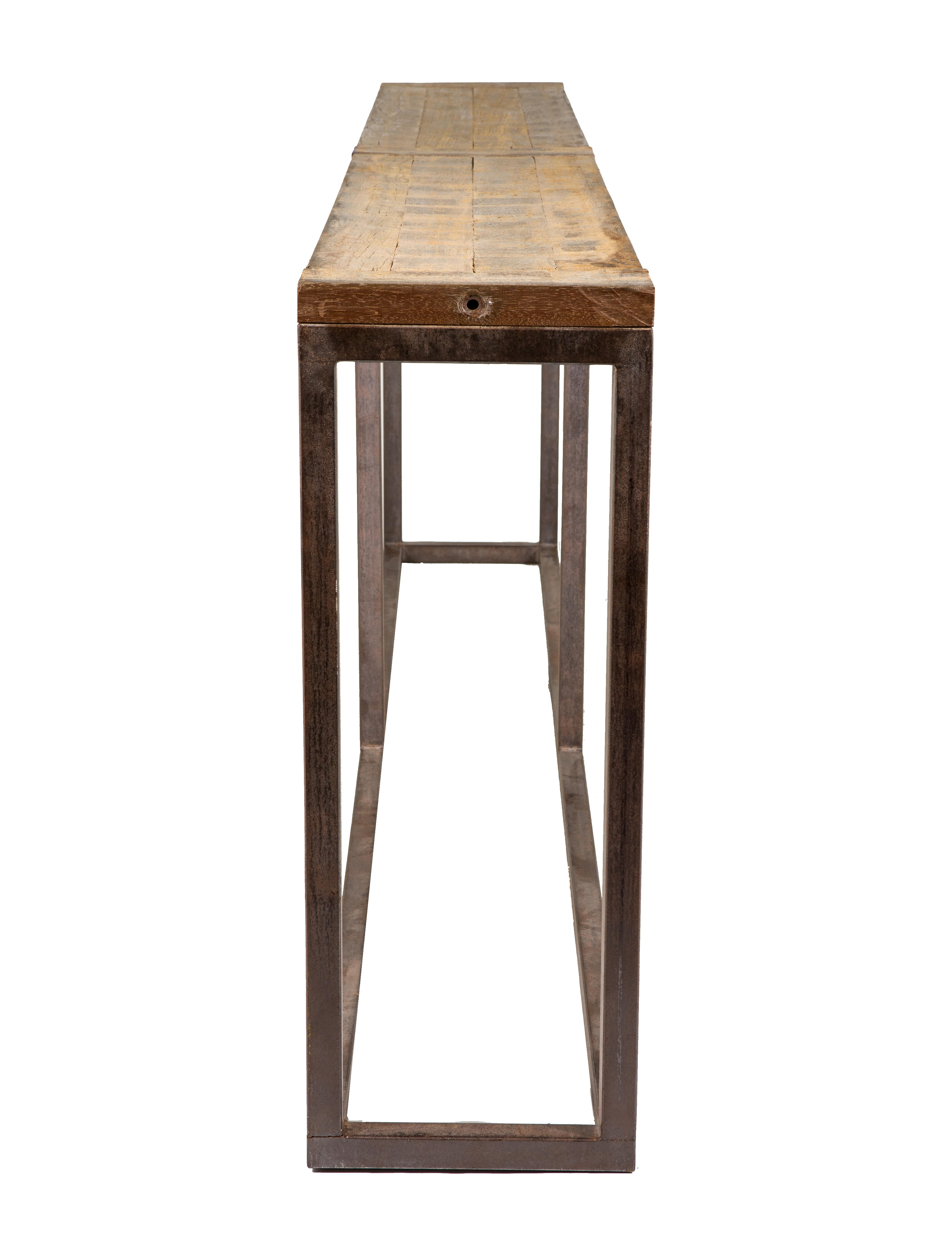 Distressed Wood Console Furniture Table20096 The Realreal