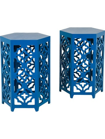 Pair of Moroccan Style Side Tables