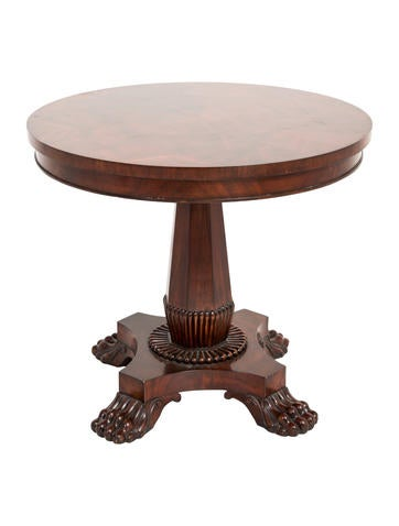 Mahogany Accent Table