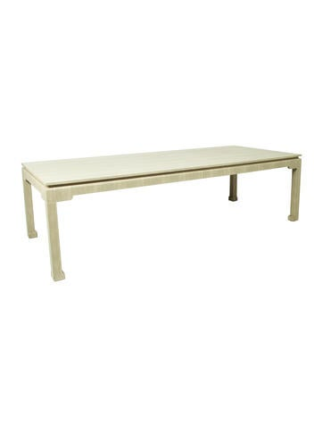 Lillian August Shagreen Dining Table Furniture