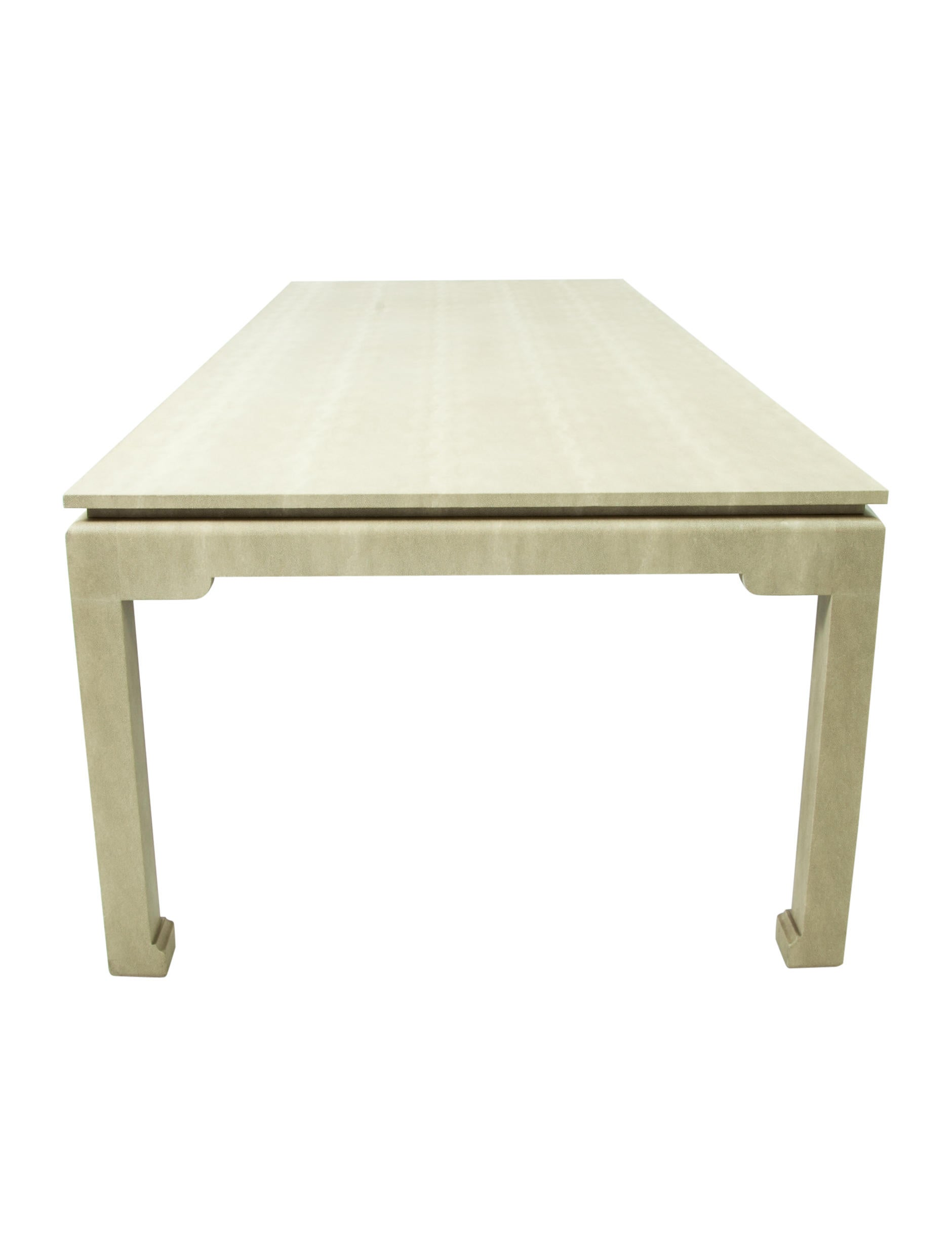 Lillian August Shagreen Dining Table Furniture TABLE