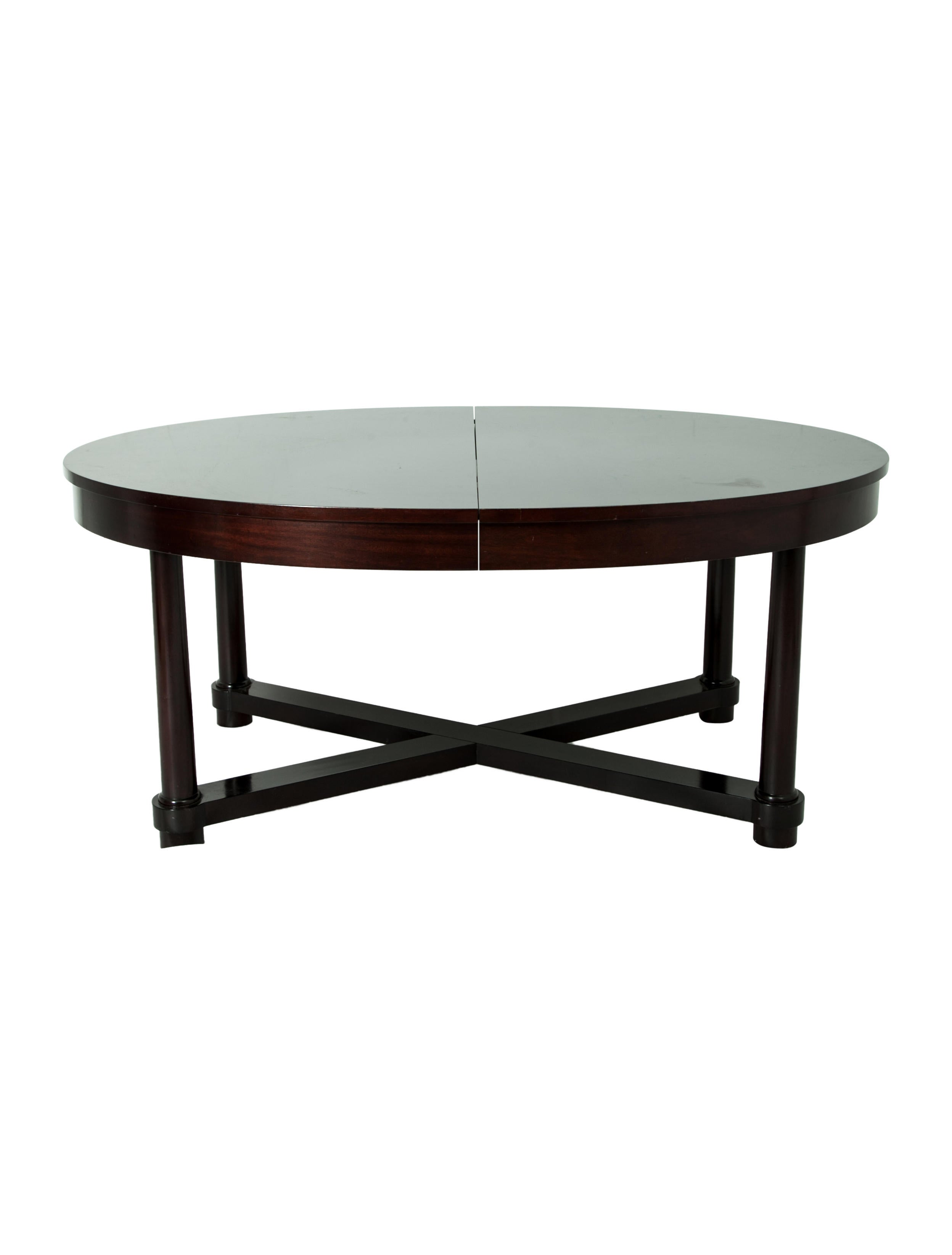 Baker oval dining table furniture table20148 the for Chair 6 mt baker