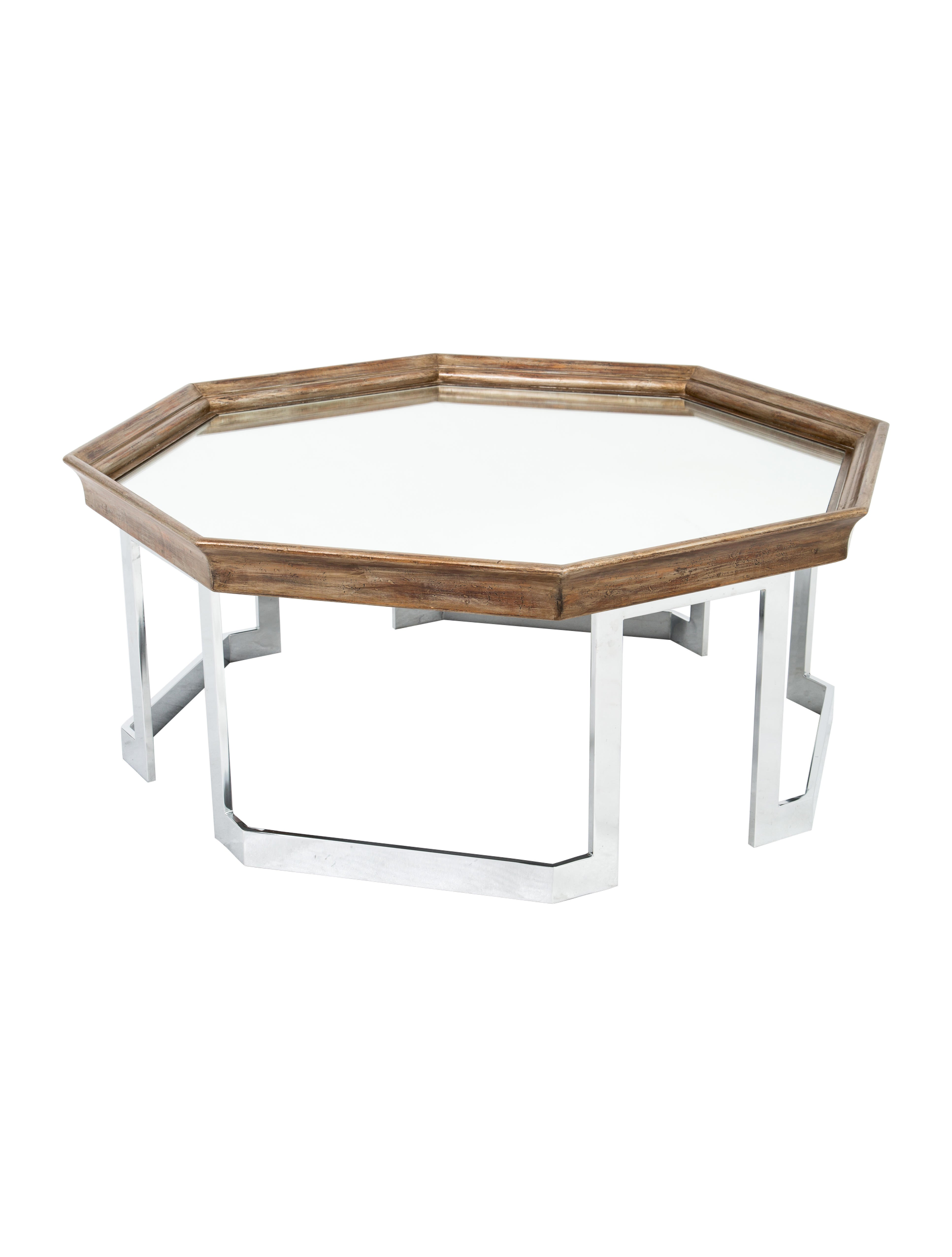 octagonal coffee table furniture table20168 the realreal