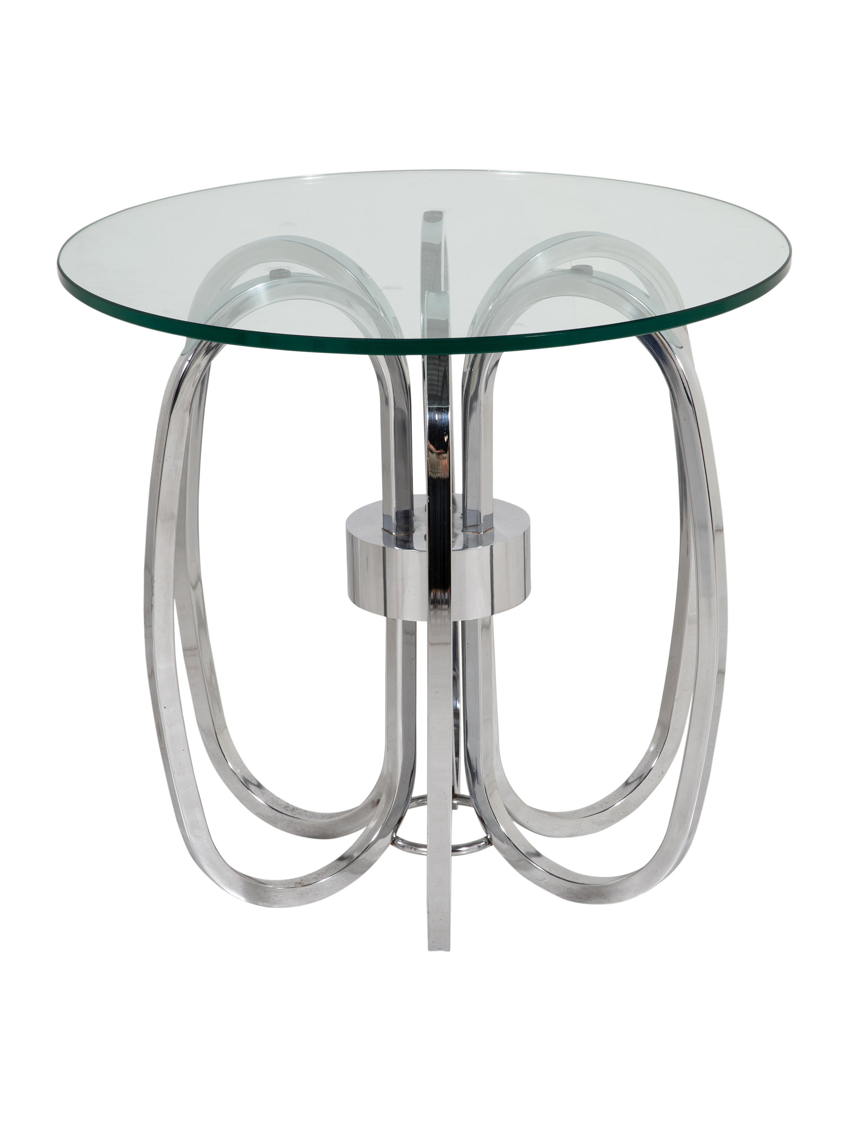 Accent Table W Glass Top Furniture Table20369 The Realreal
