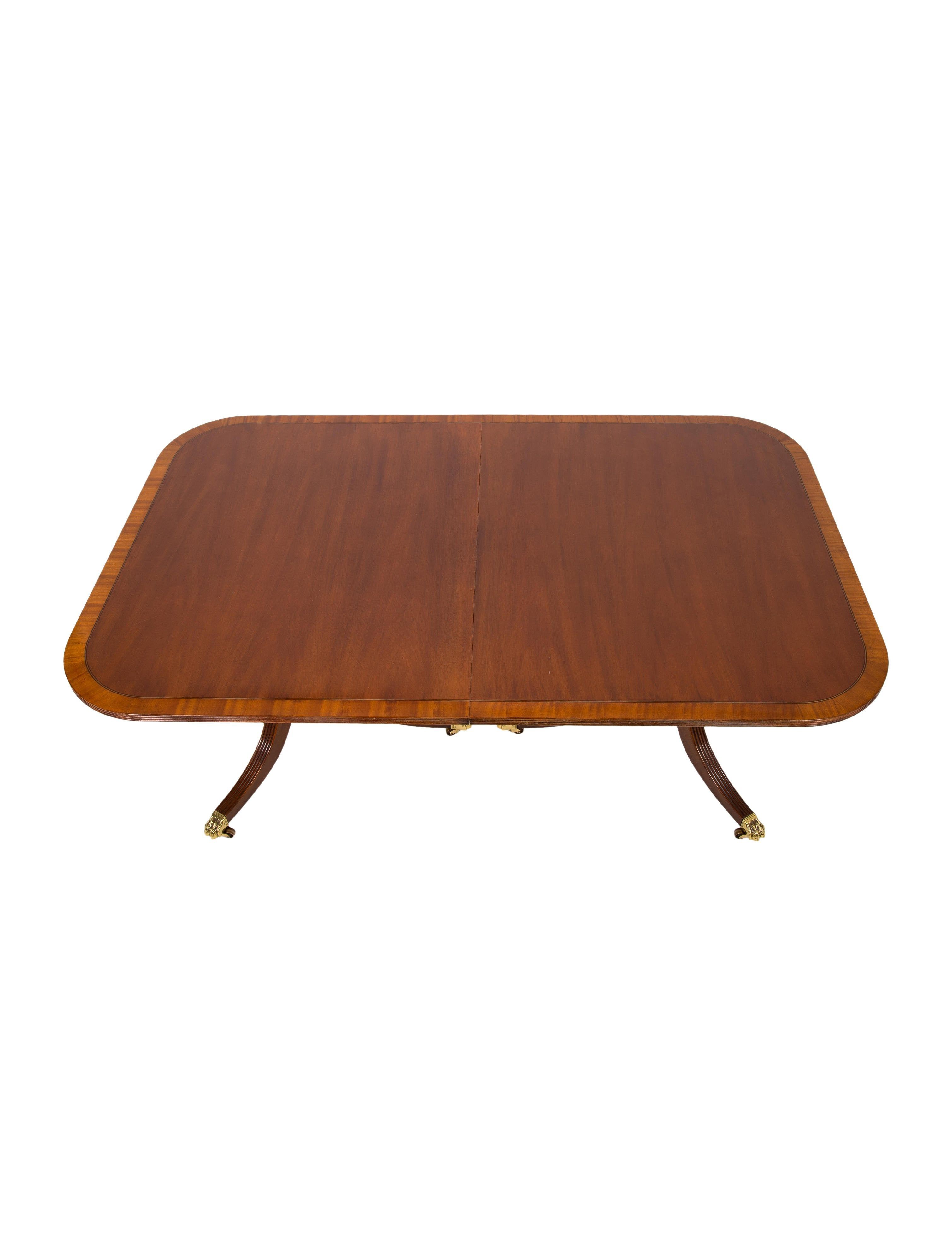 Mahogany Dining Table Furniture Table20380 The Realreal