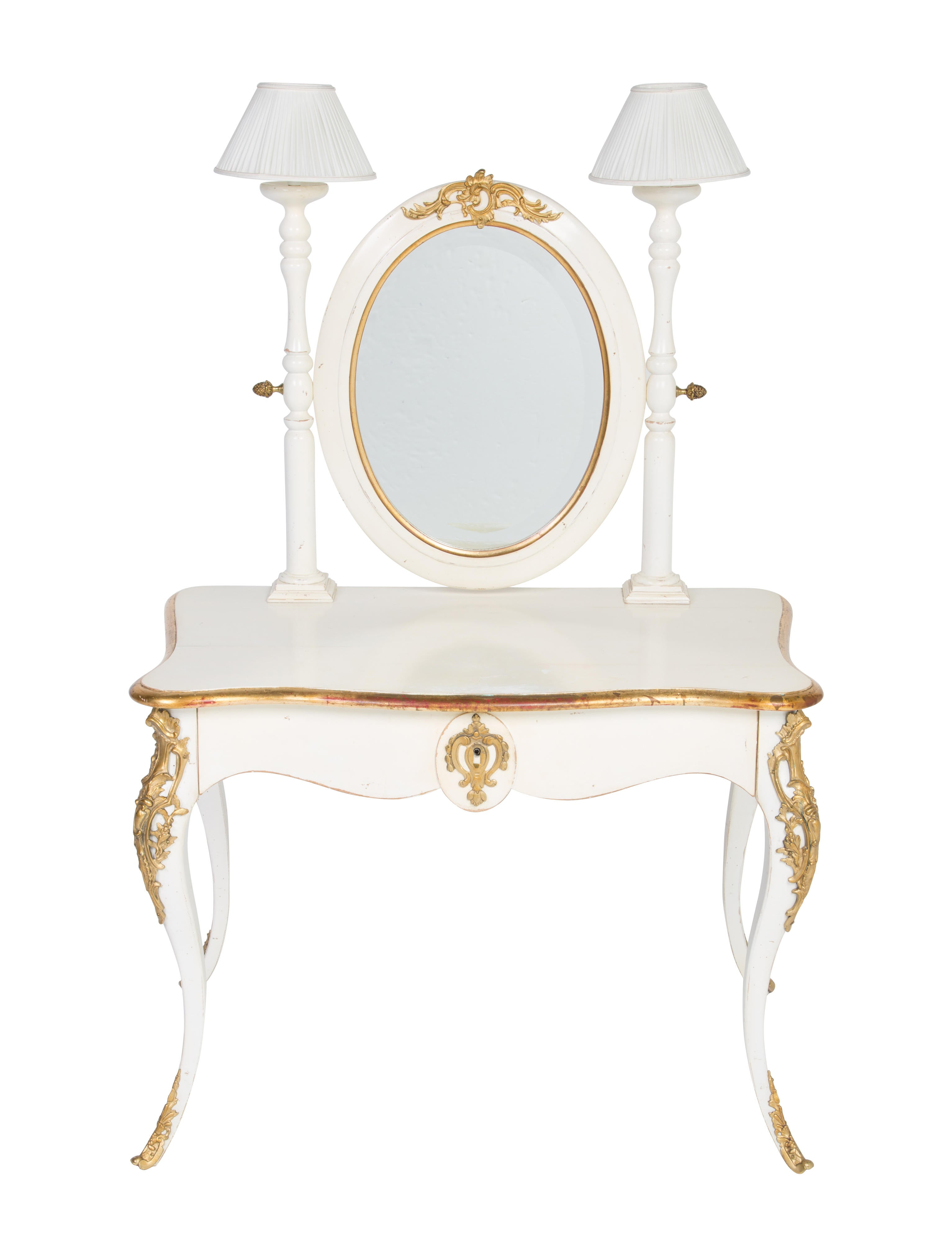 Distressed Vanity Table Furniture Table20403 The