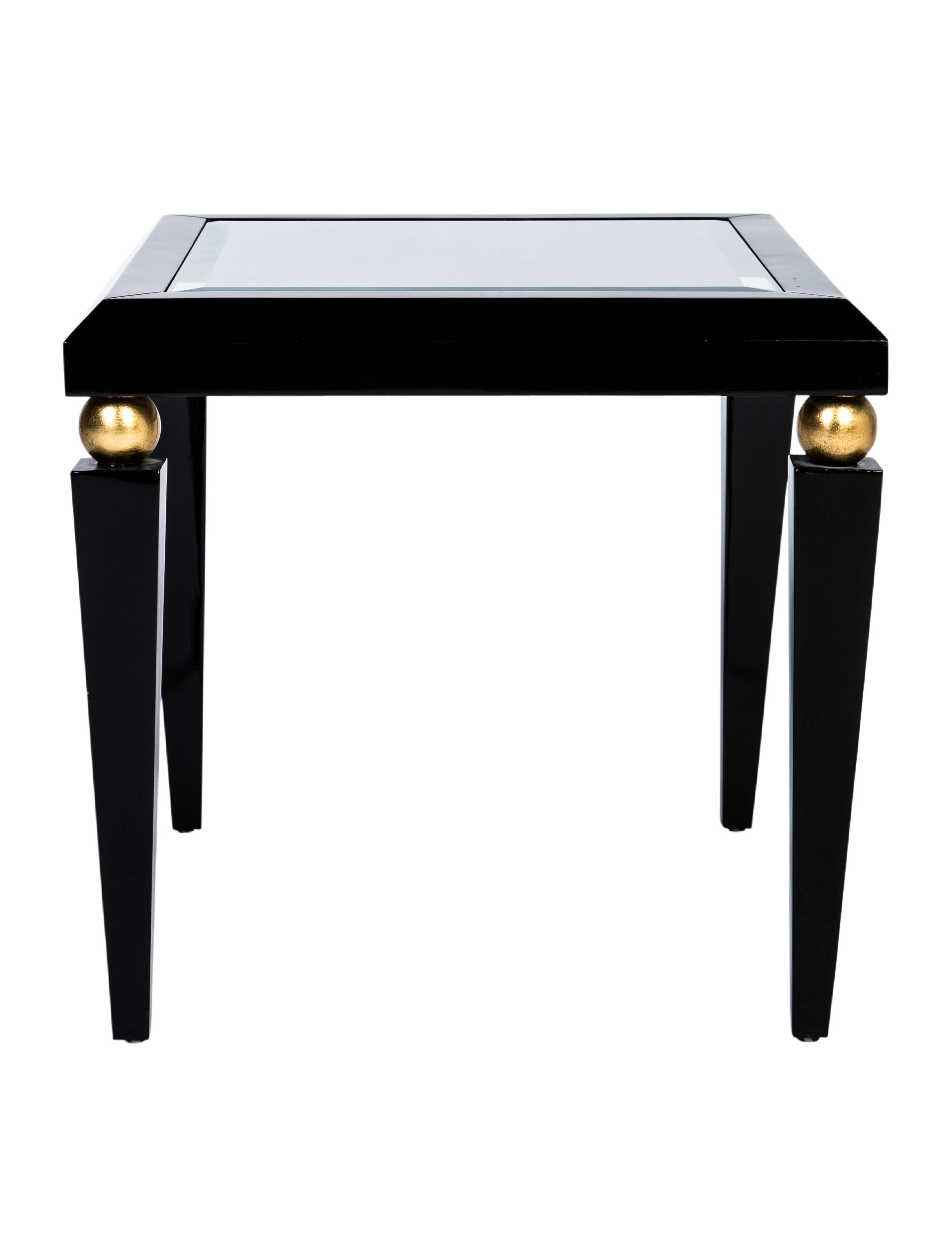 Lacquered wood side table furniture table20423 the for Lacquered furniture