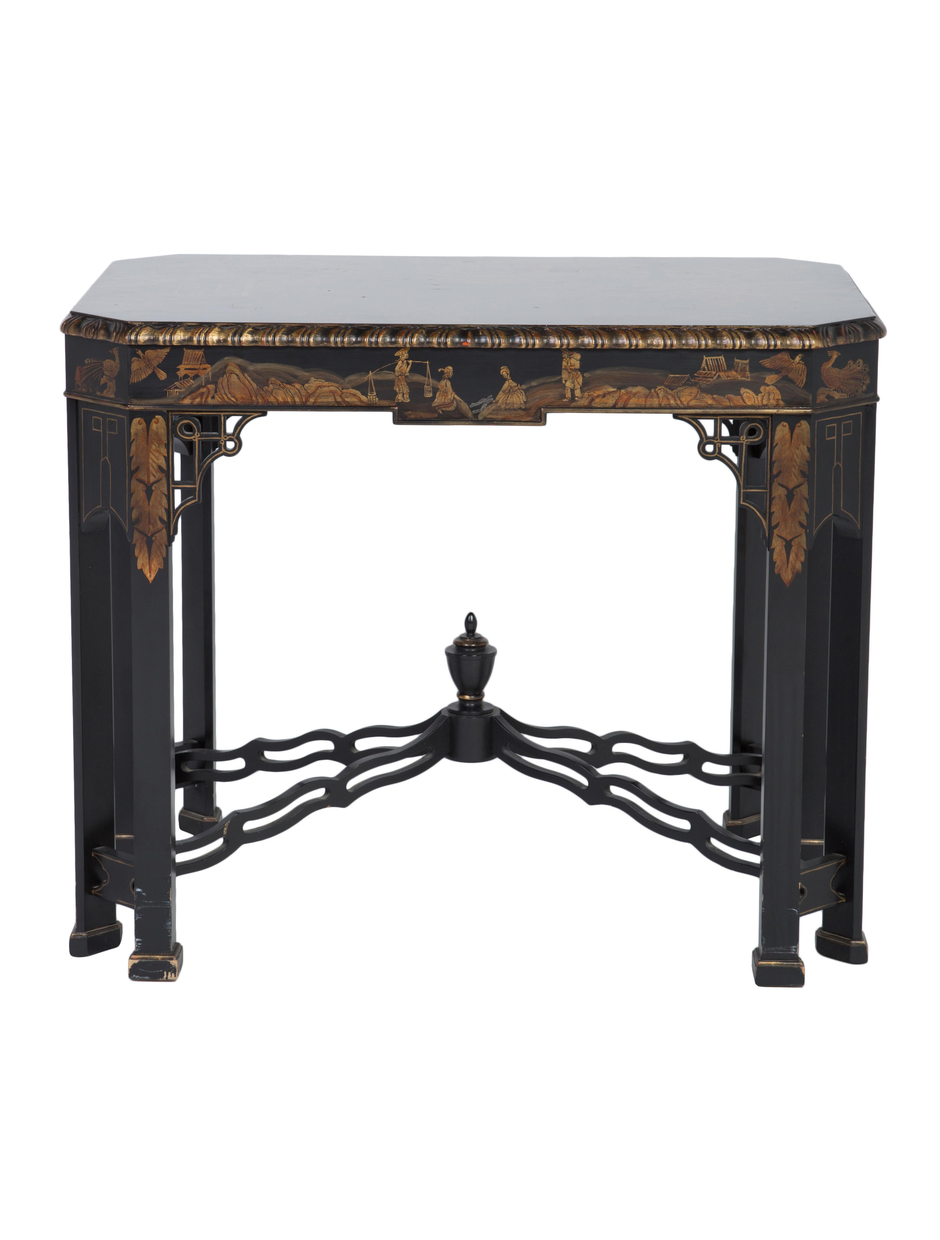 Asian style console table furniture the