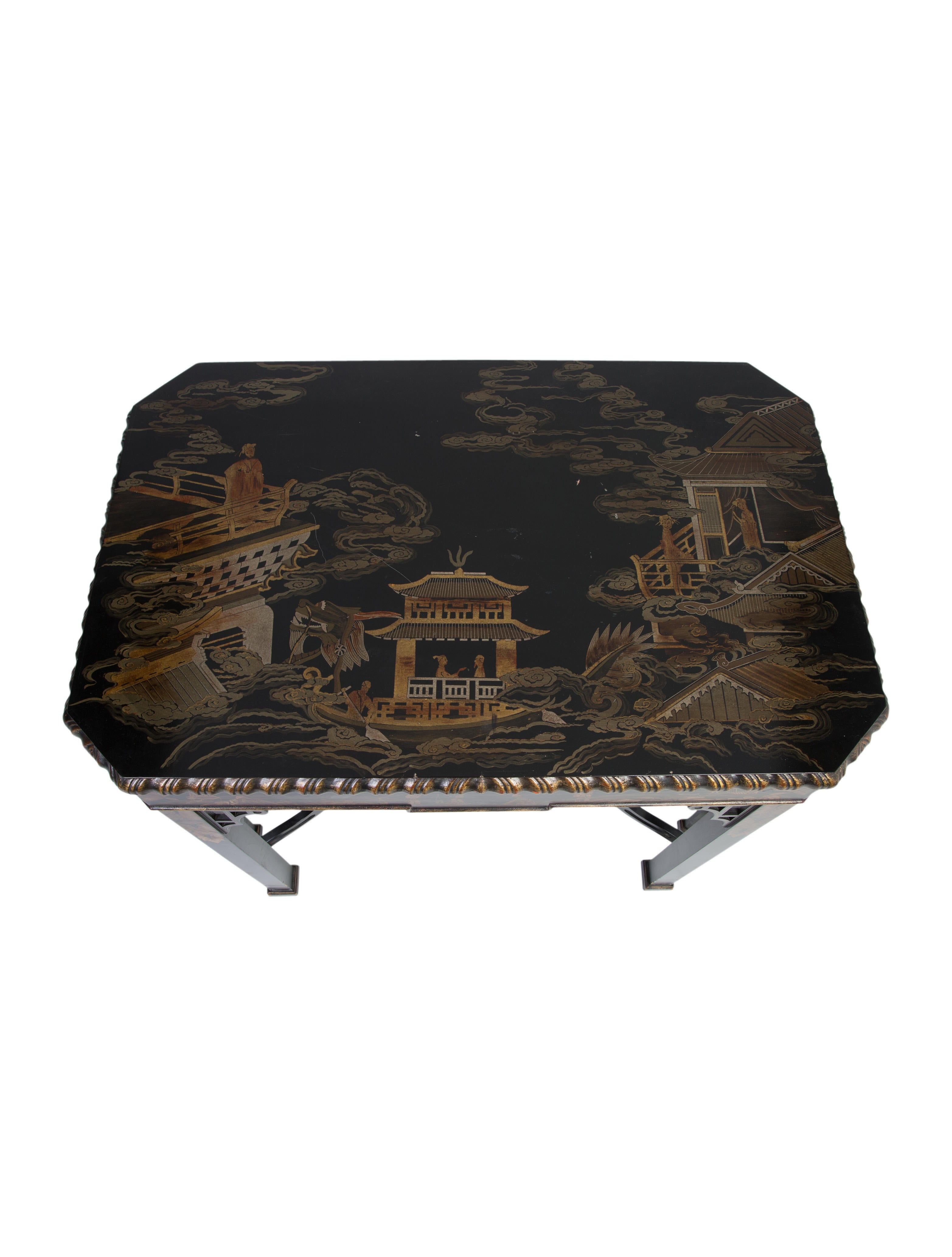 Asian Style Console Table 10