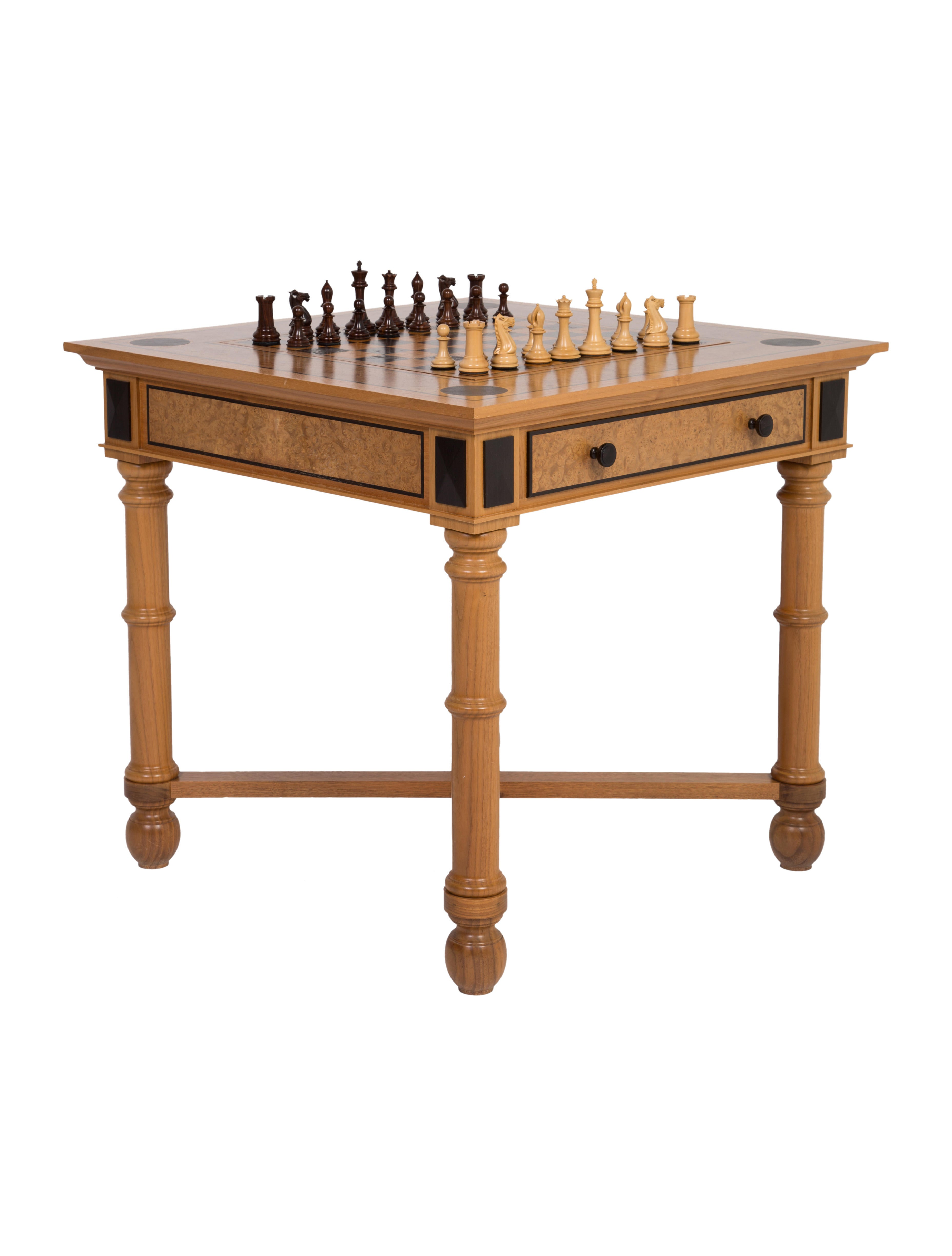 David Linley Game Table Furniture TABLE