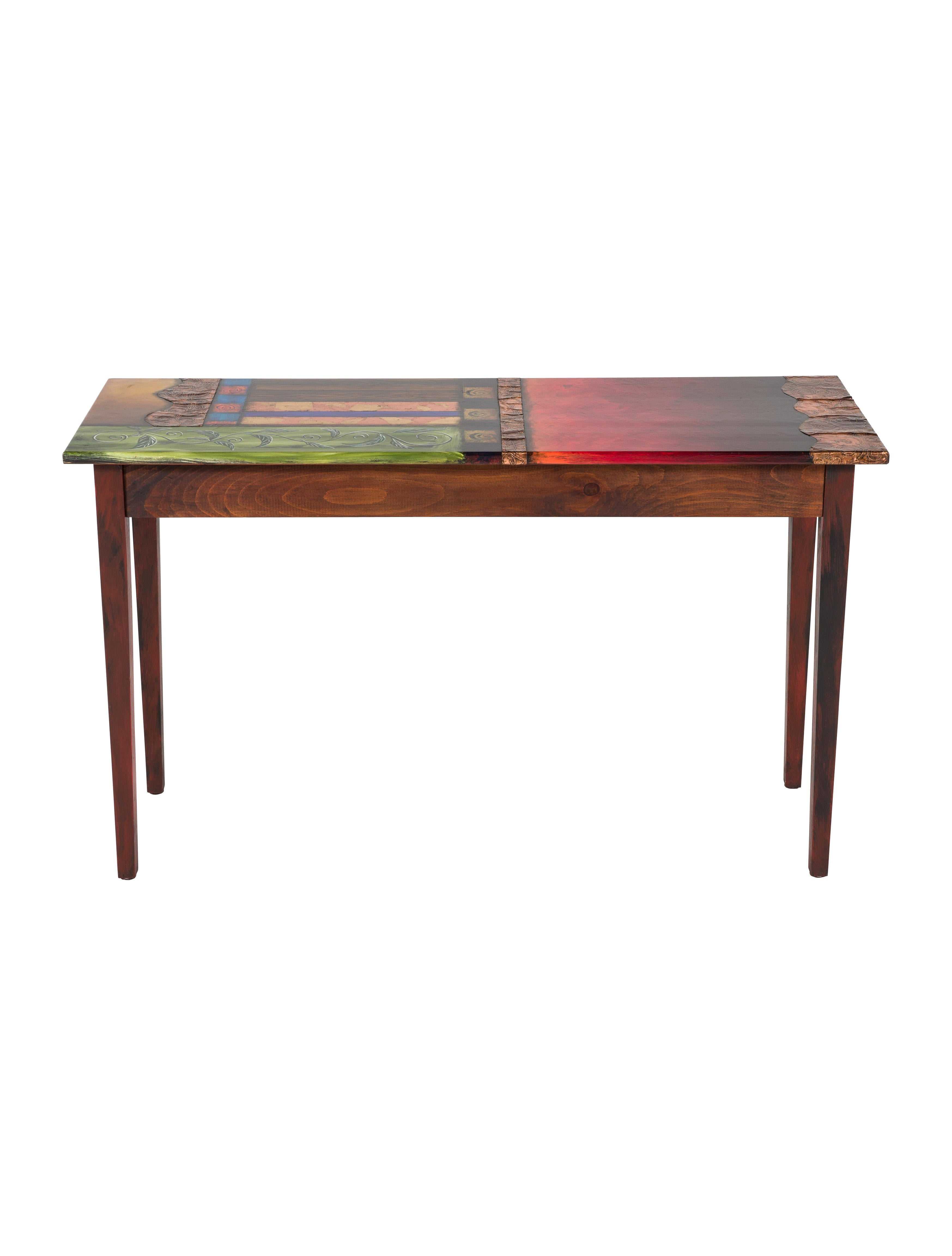 Hand Painted Console Table Furniture Table20446 The