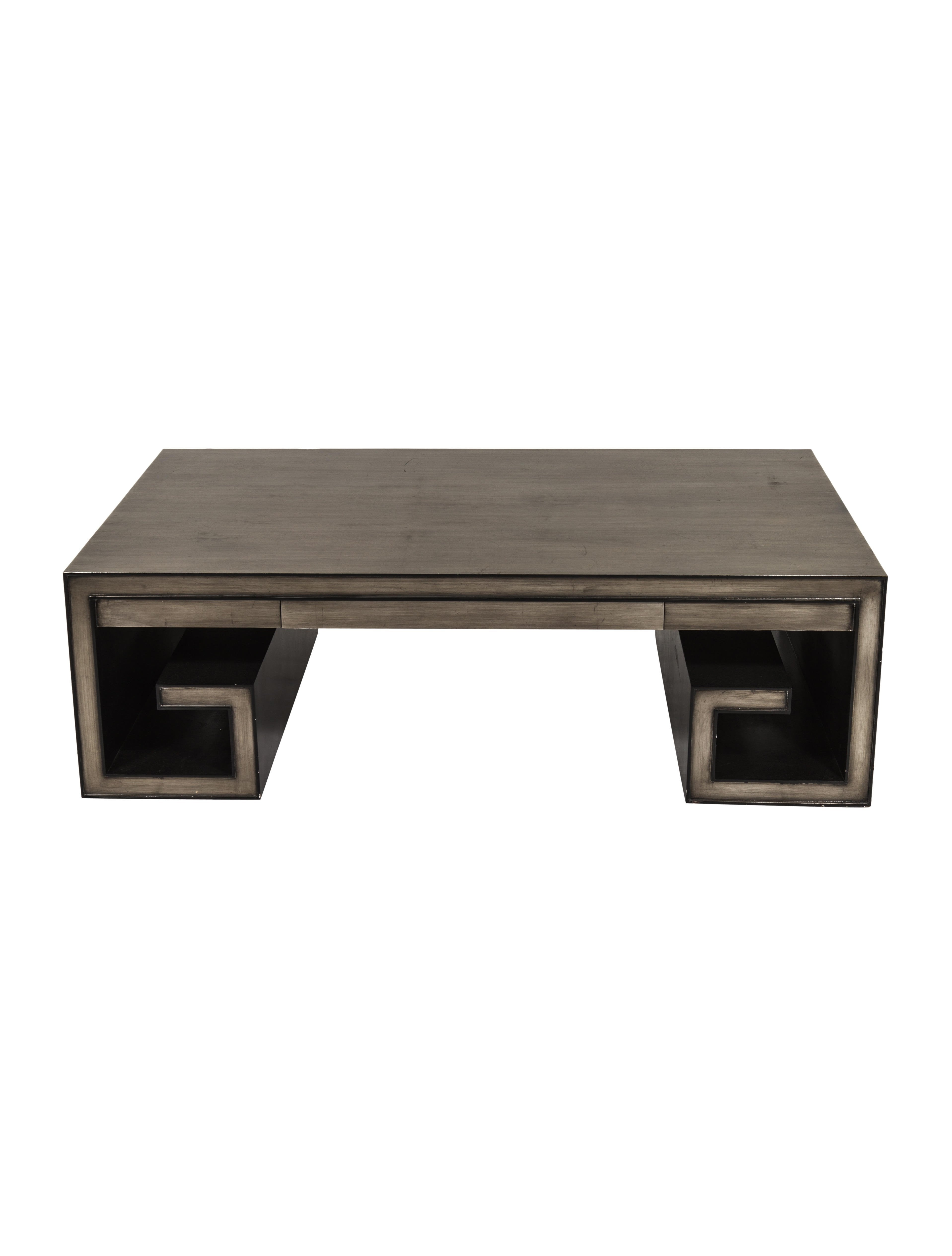 Crawford Greek Key Coffee Table