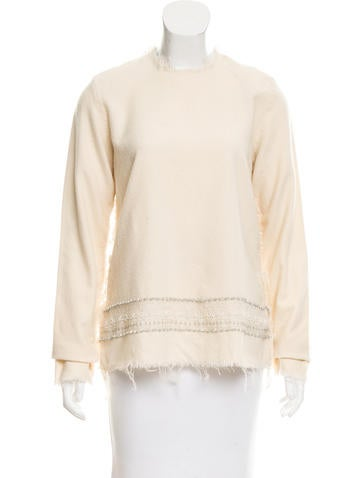 Tao Comme des Garçons Embellished Wool Top w/ Tags None