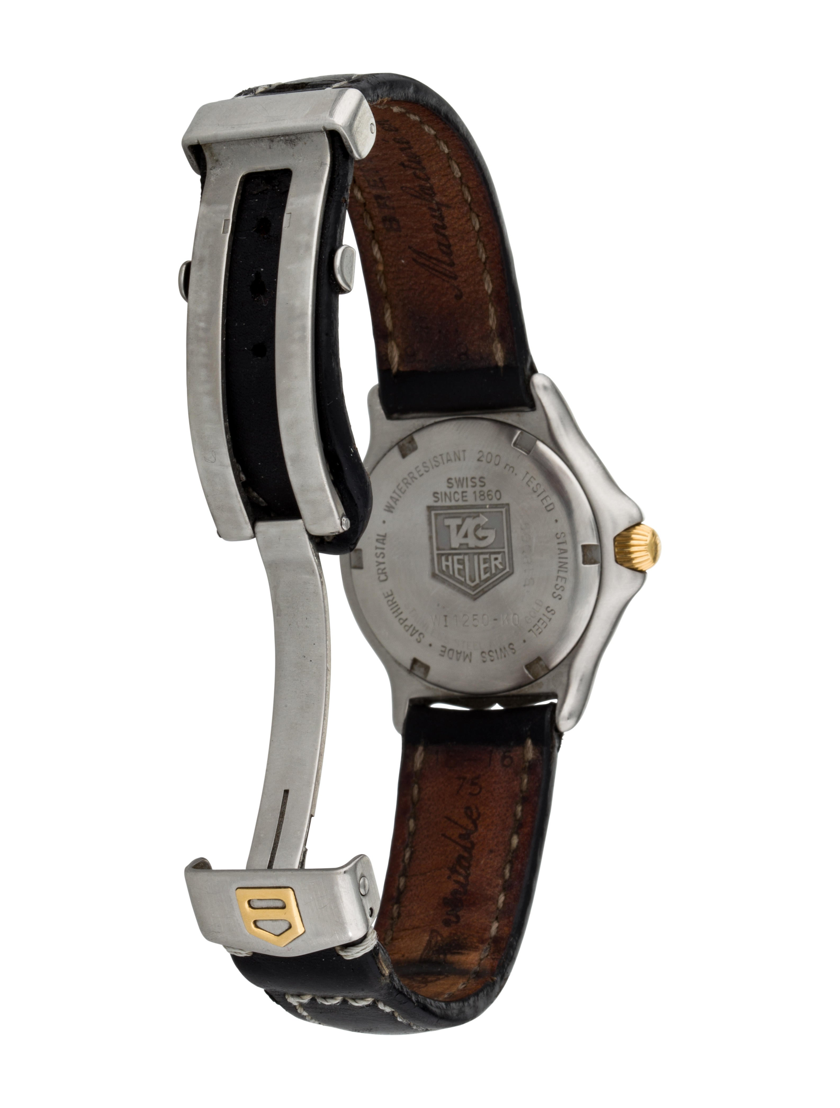 Tag Heuer Professional 200 Meter Watch Strap Tag20445