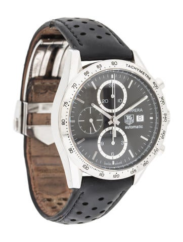 product nametag heuer carrera watch